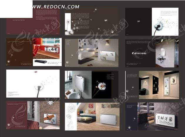 画册设计-建筑室内装修的画册设计-画册矢量|样上海中建体现设计院庞乃成图片