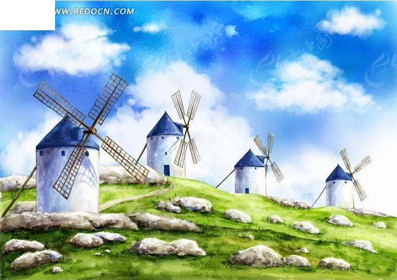风车屋动漫手绘