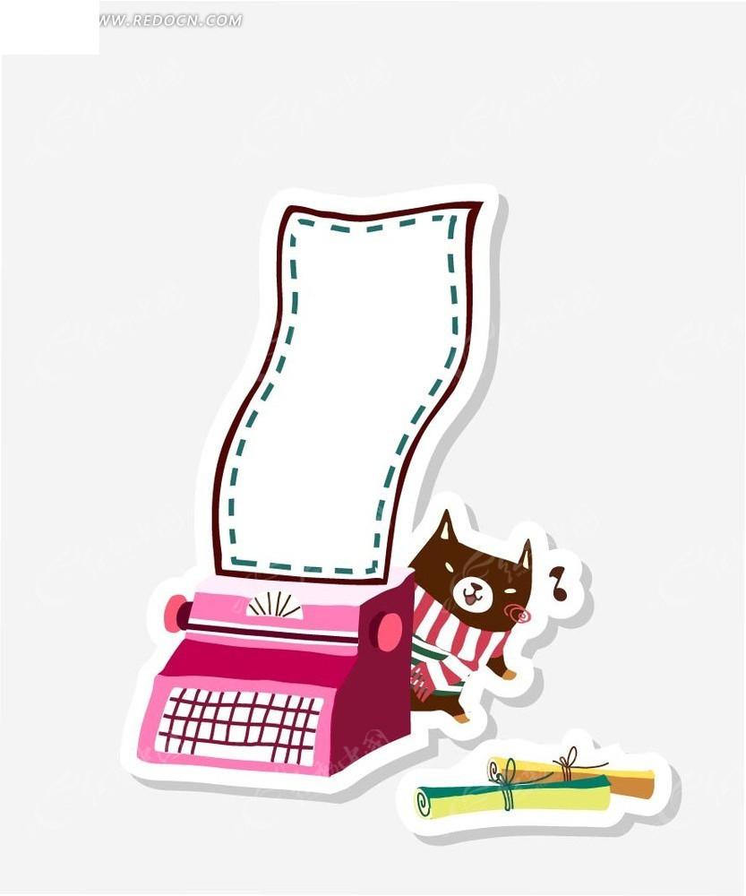 免费边框素材卡通矢量水管插画边框大师草图素材打印小熊和绘制相框花纹唱歌可以动物吗图片