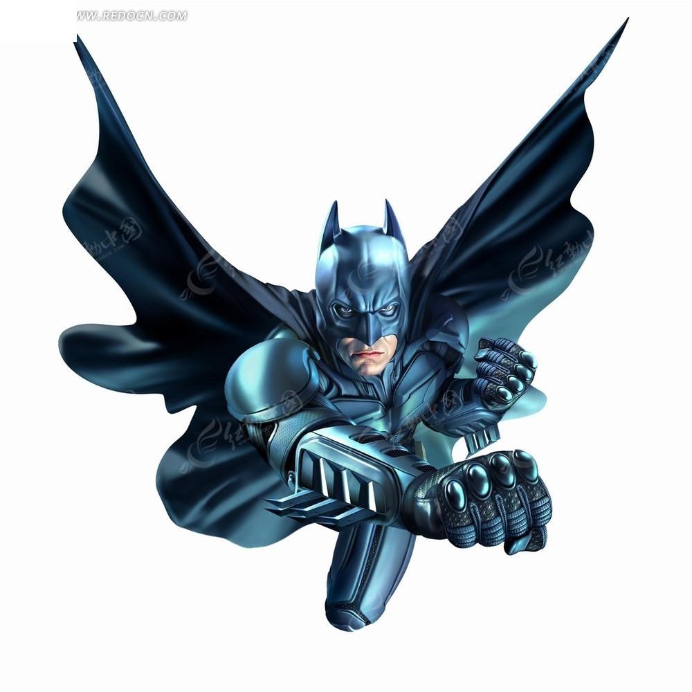 的蝙蝠侠卡通画