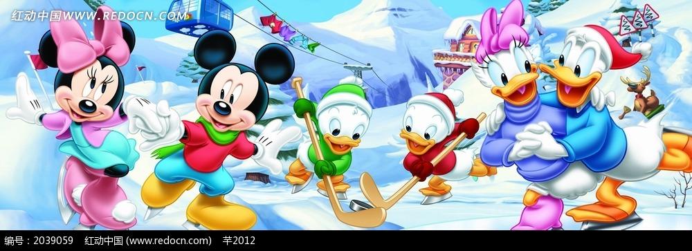 唐老鸭  迪士尼 卡通画 卡通人物 动画人物  漫画人物 psd分层素材