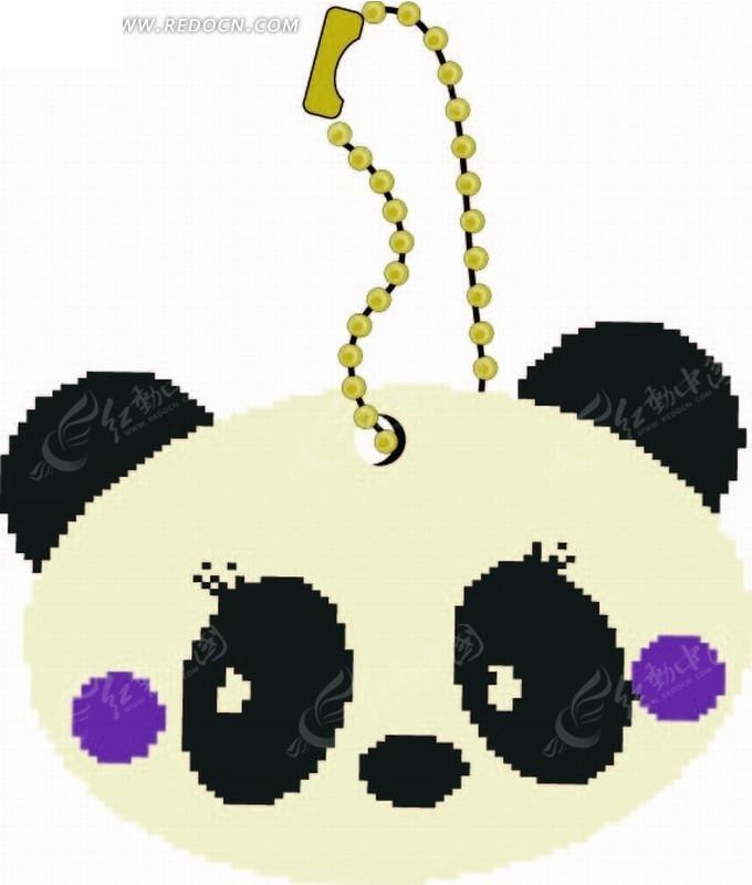 熊猫 黑眼圈