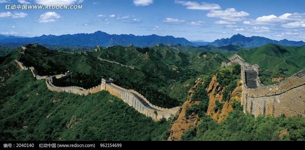 万里长城全景图图片 环境图片 2040140 高清图片