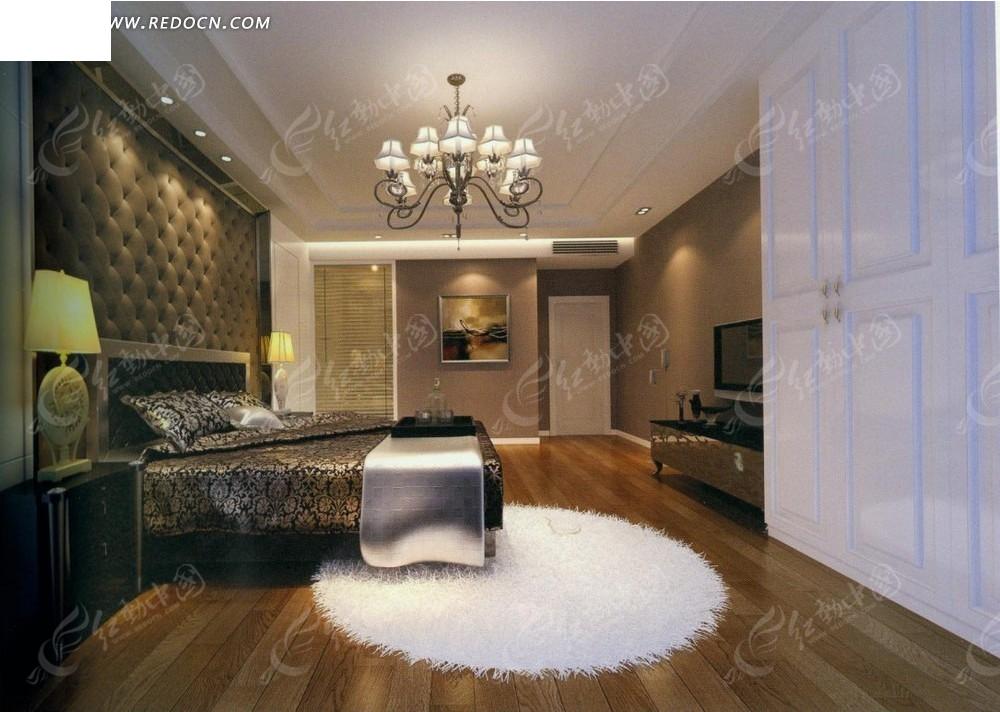 欧式富贵奢华卧室效果图