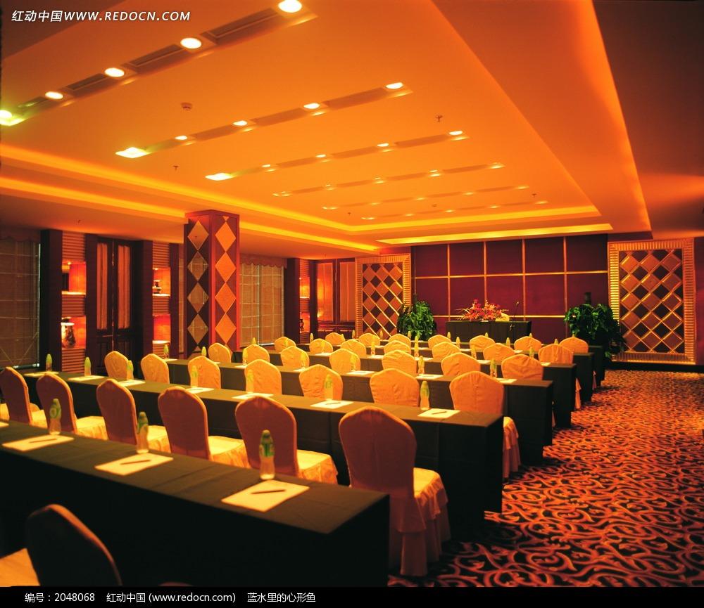 室内设计 摄影图片 明亮 欧式风格 温馨 暖色调 豪华 奢华 酒店会议厅
