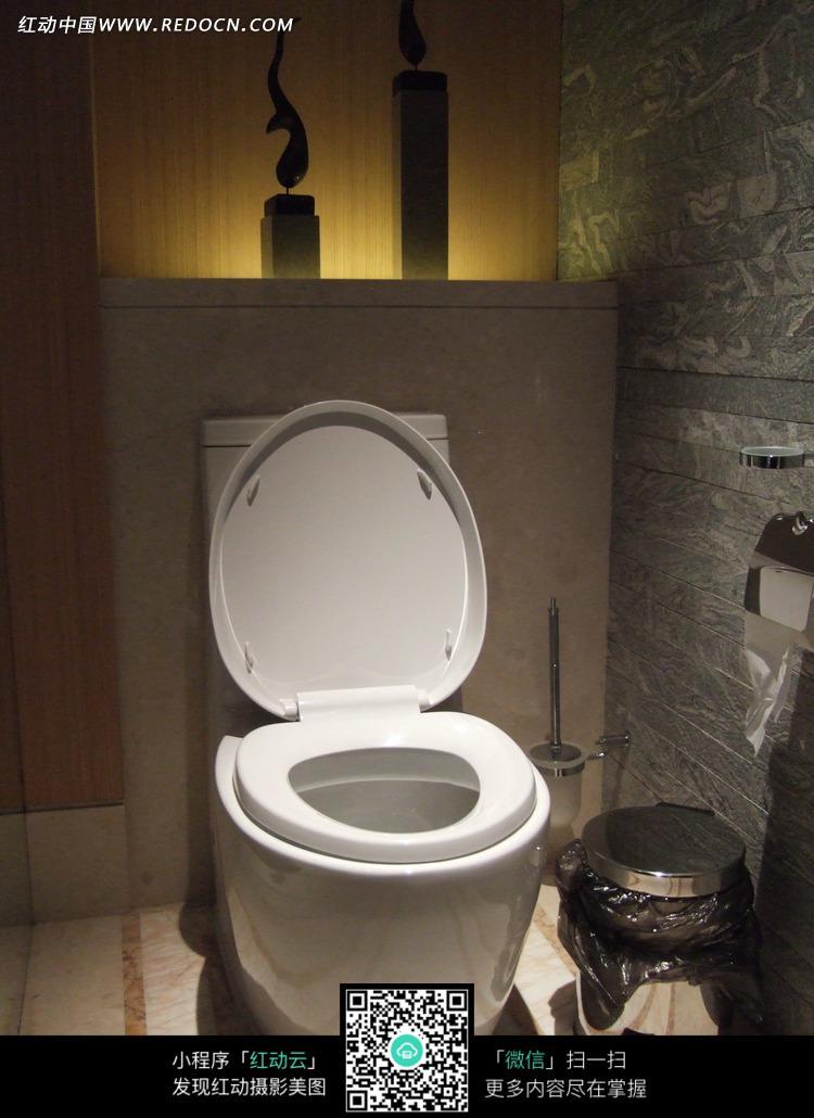 卫生间马桶图片_室内设计图片