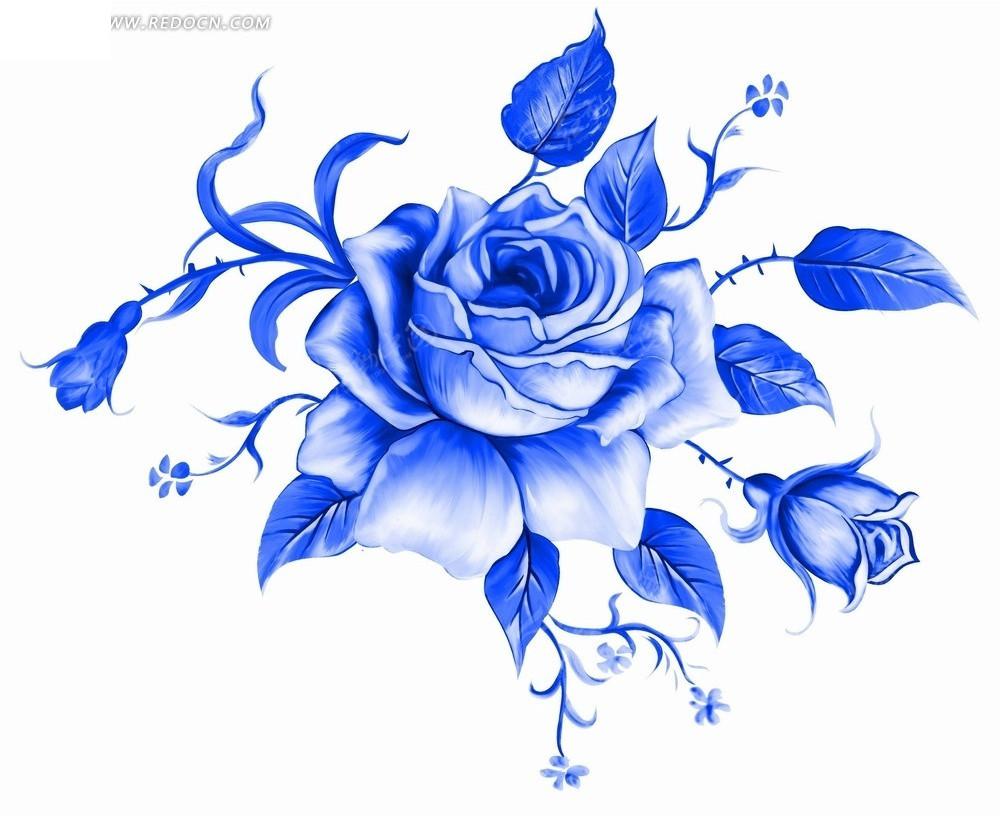 u624b u7ed8 u84dd u8272 u82b1 u6735 u5f69 u94c5 u753b  u624b u7ed8 clip art doves images clipart doves flying