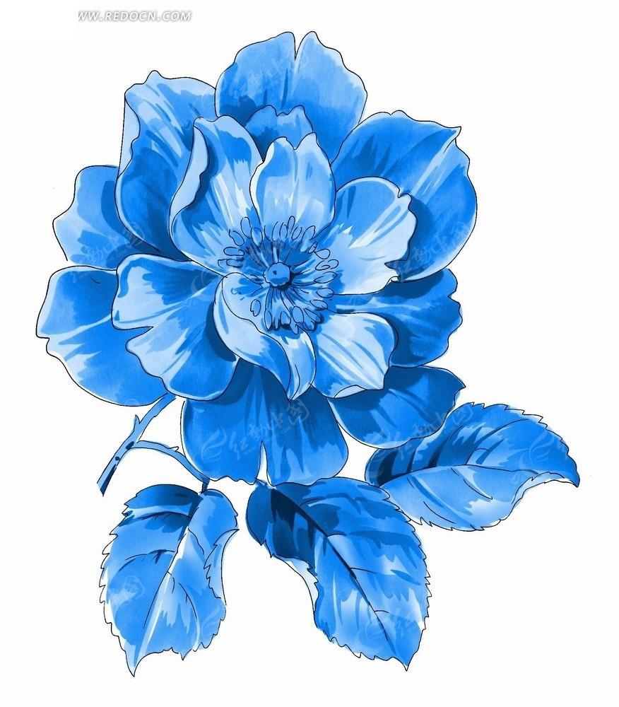 素材描述:红动网提供花纹花边精美素材免费下载,您当前访问素材主题是手绘抽象画盛开的蓝色花朵,编号是2070715,文件格式PSD,您下载的是一个压缩包文件,请解压后再使用看图软件打开,图片像素是876*1000像素,素材大小 是5.89 MB。
