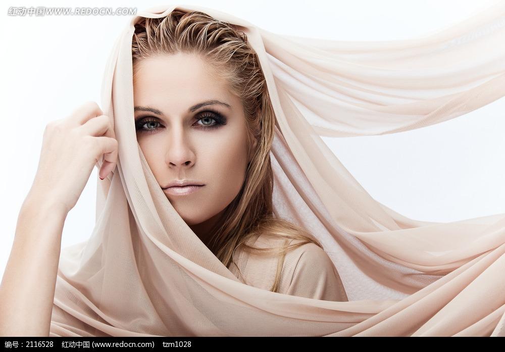 金发美女模特图片 女性女人图片