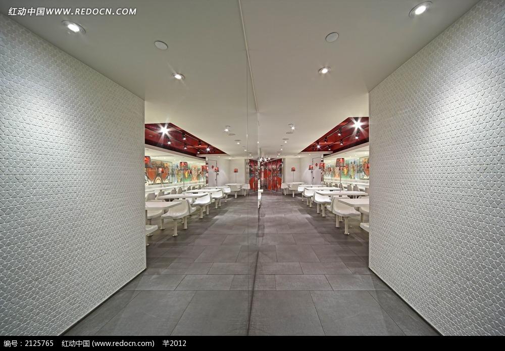 餐厅走廊装饰效果图