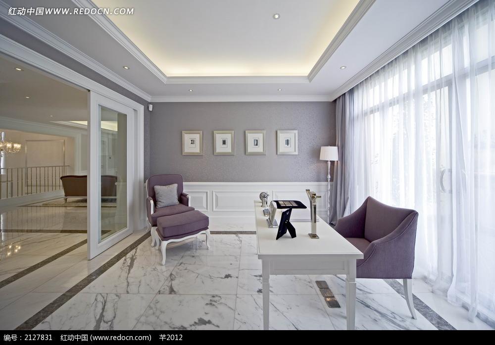 大气欧式客厅装饰效果图