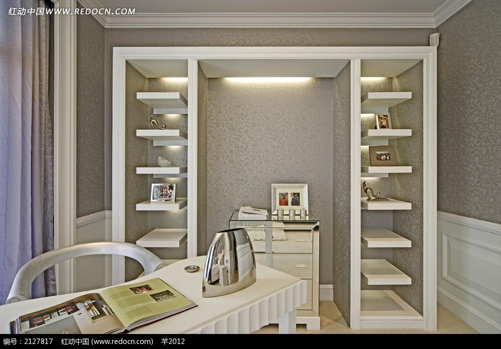 储物架装饰效果图素材图片_室内设计图片到哪里找景观设计团队图片