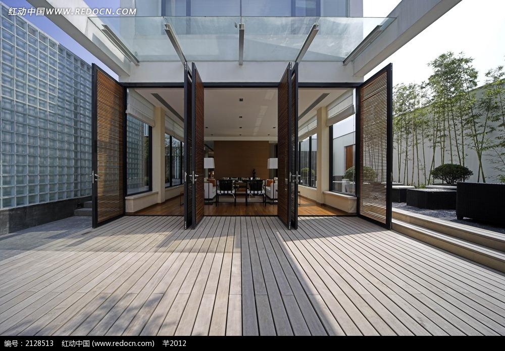 别墅 一楼 进户门装饰效果图 图片 室内设计图片高清图片