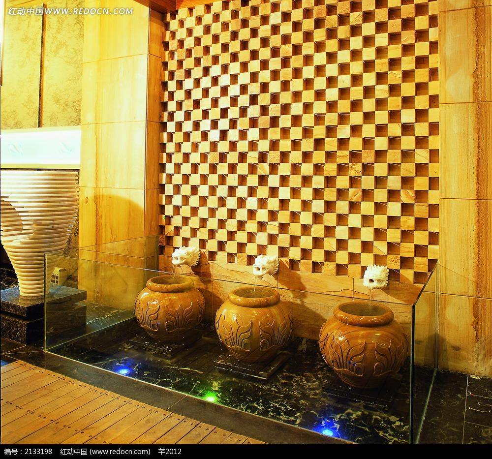 中国风陶瓷罐客厅装饰物
