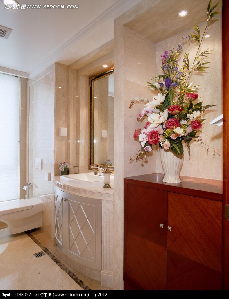 欧式洗手间装饰效果图图片