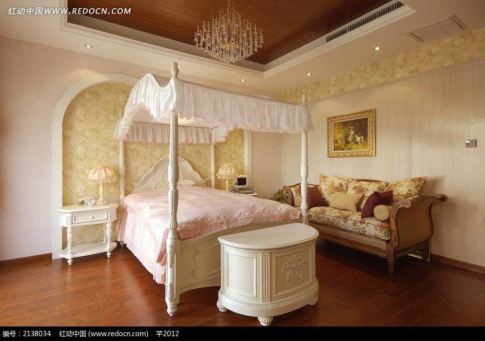 少女公主卧室图片_室内设计图片