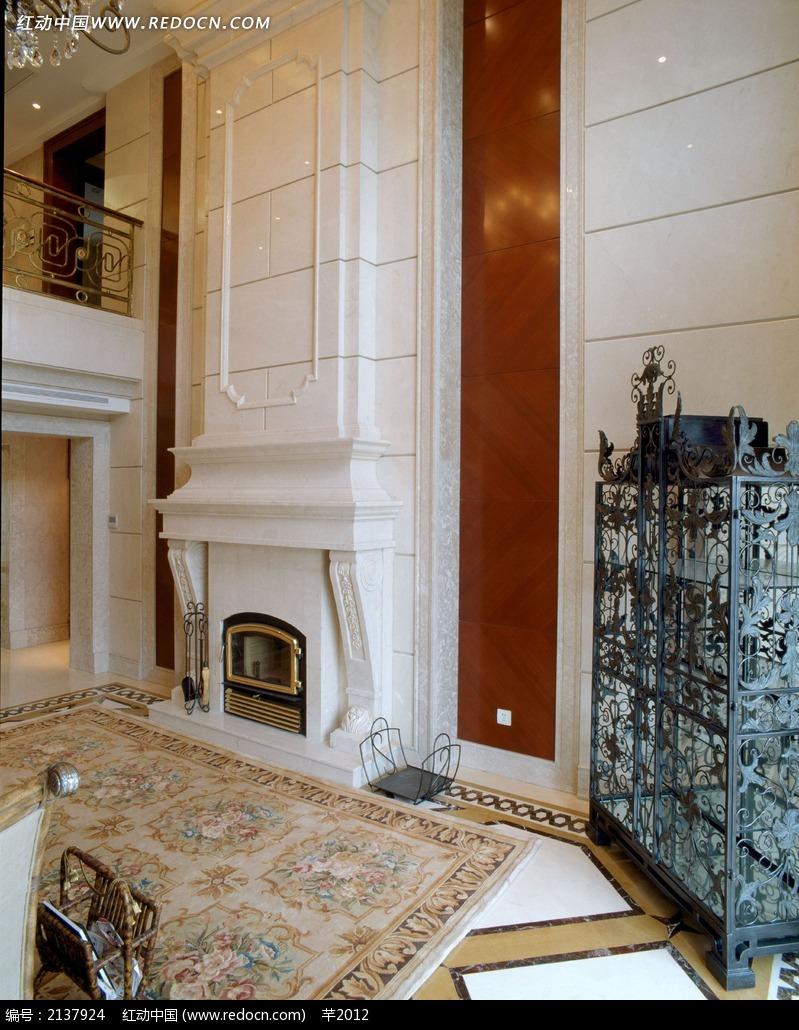 欧式别墅壁炉设计图