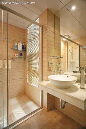 简约浴室洗手台设计图