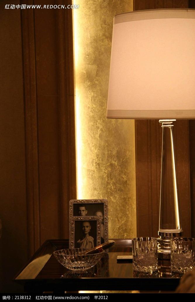 家具茶几相框台灯设计图图片