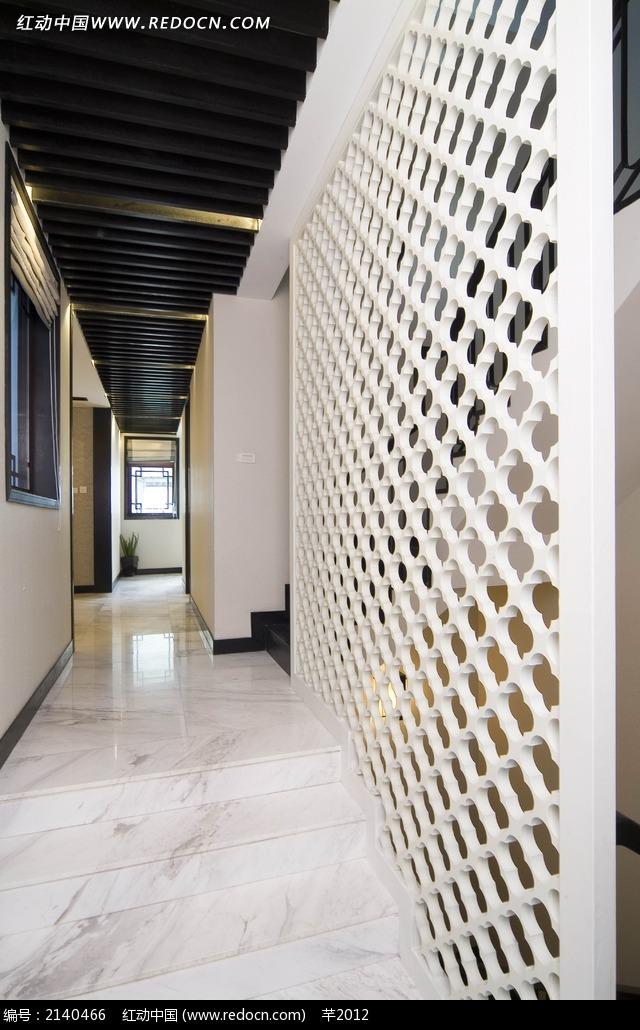 免费素材 图片素材 环境居住 室内设计 和风木质花纹隔墙设计图  请您