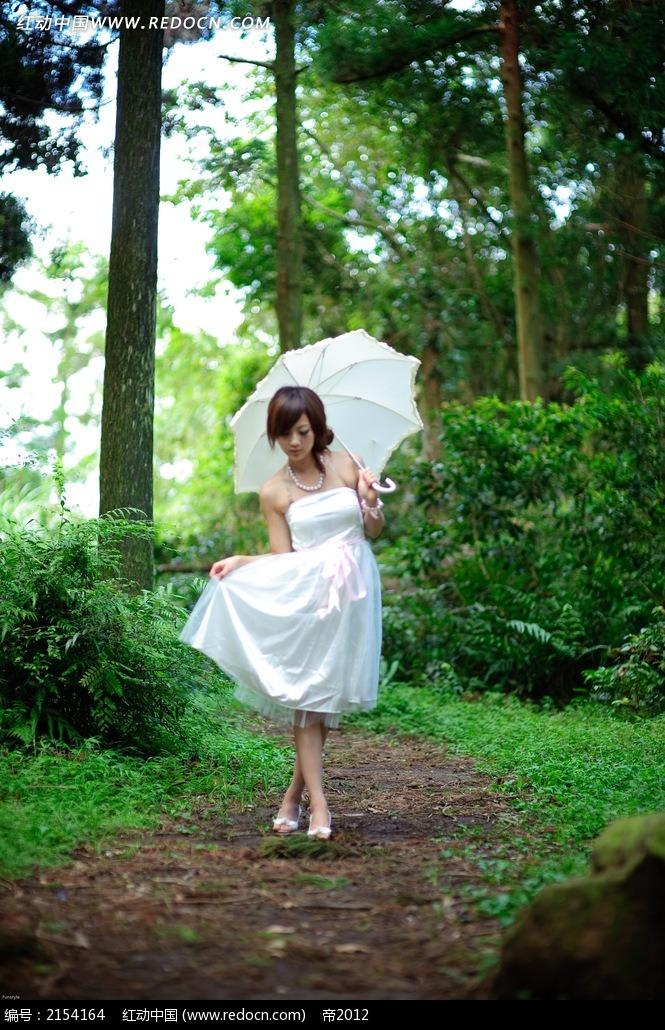 免费素材 图片素材 人物图片 女性女人 打伞的美女写真摄影