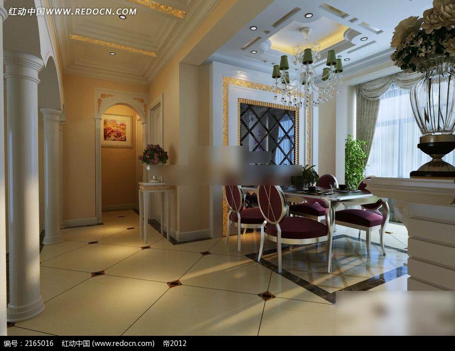现代欧式别墅设计图3dmax免费下载