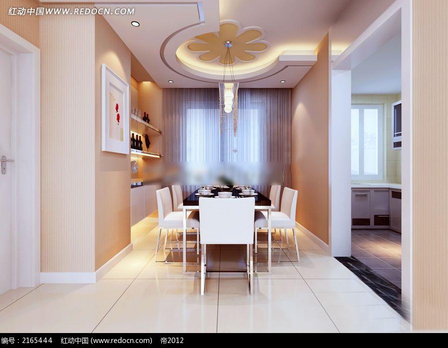 家庭饭厅装修效果图