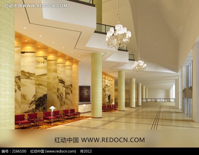 酒店装修效果图 酒店餐桌设计图 餐厅大厅设计效果图 酒店客房设计图