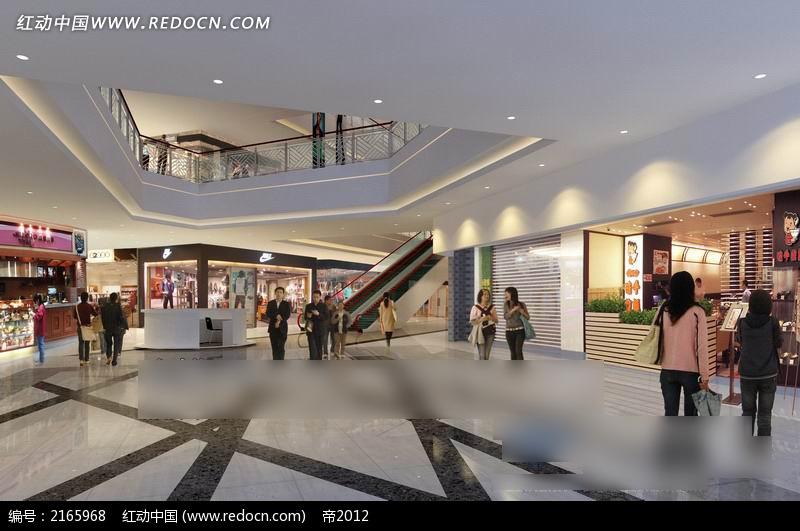 商场大厅效果图