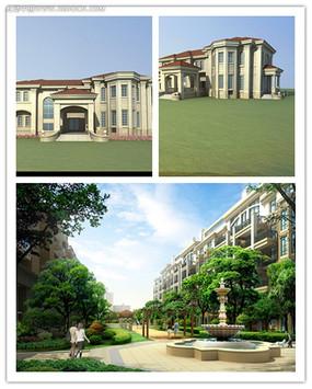 欧式古典建筑设计图片