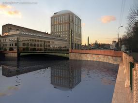 海边欧式建筑设计图片