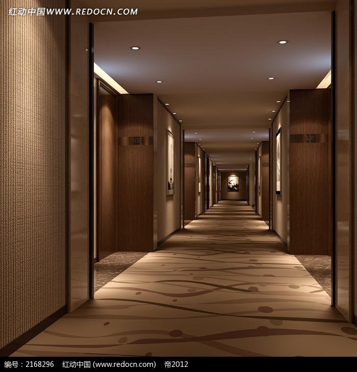 酒店装修过道效果图片