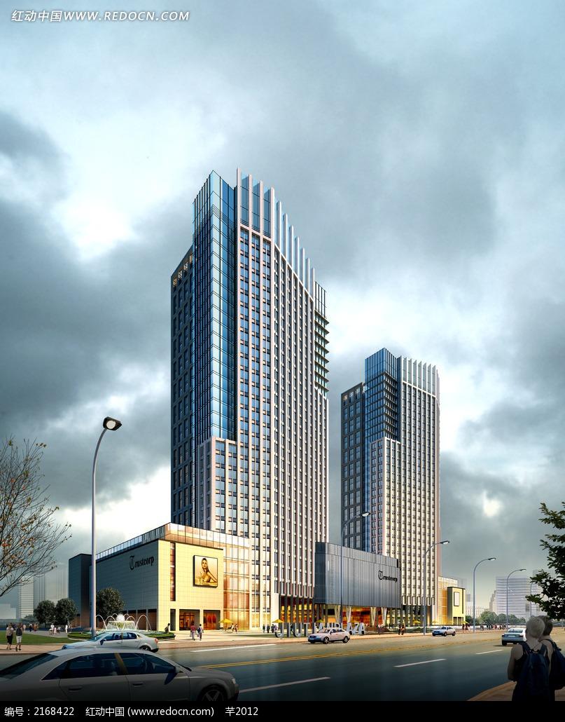 商场建筑外观效果图片