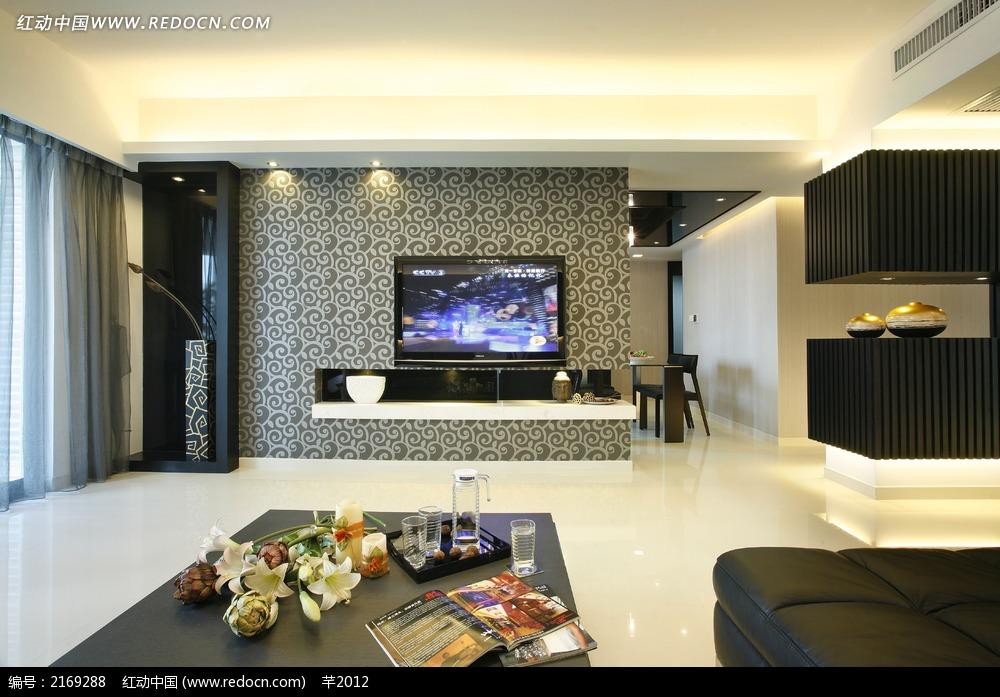 免费素材 图片素材 环境居住 室内设计 客厅茶几陈设图  请您分享