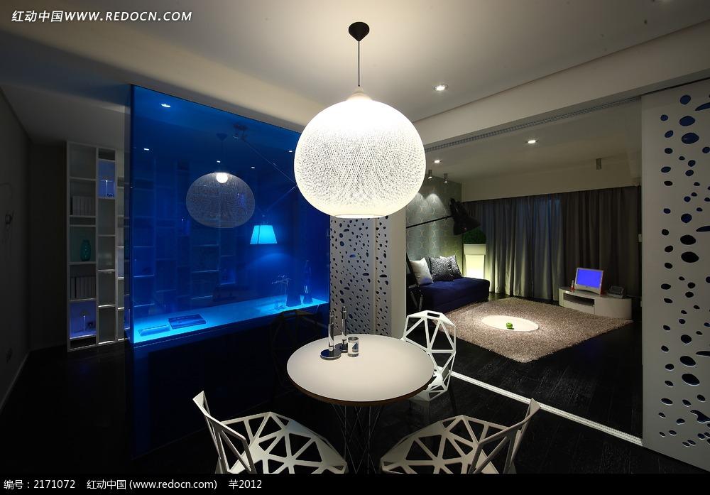 图片多功图片效果图蓝色_室内设计客厅建筑设计优秀v图片快题图片