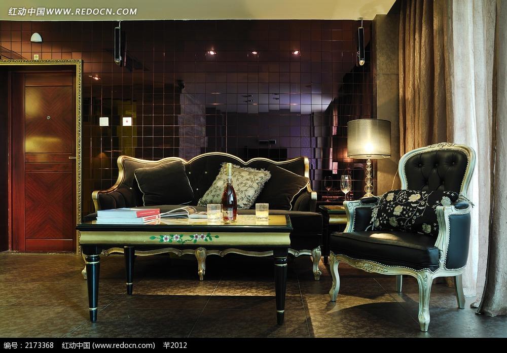 欧式大气客厅装饰效果图