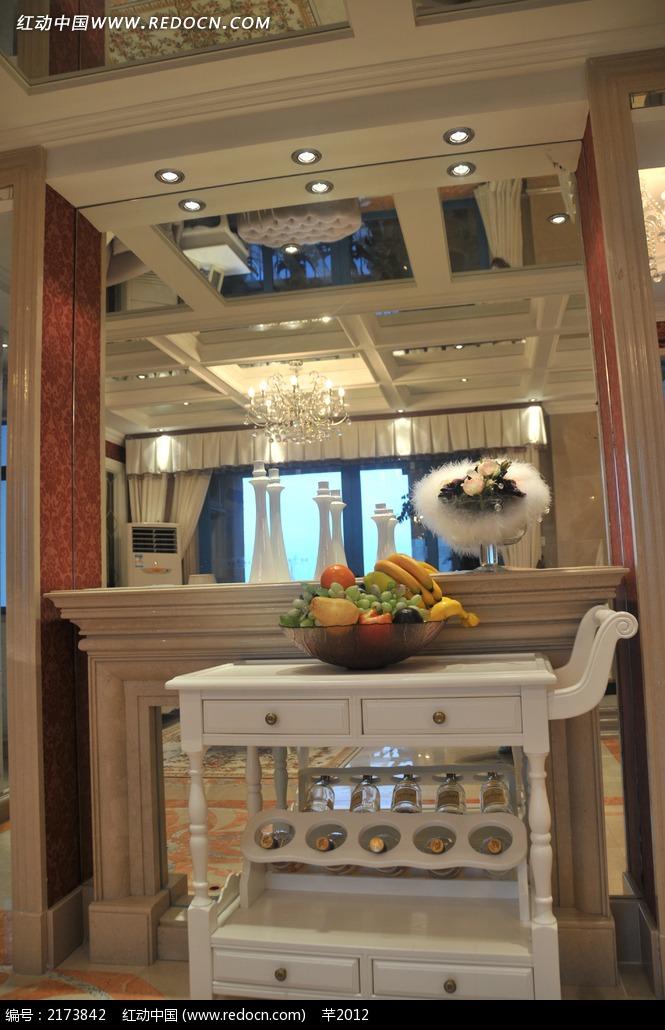 欧式门厅装饰效果图