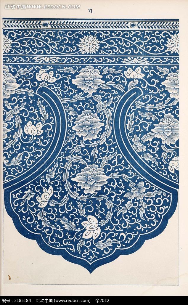 手绘手帕图案蜡染