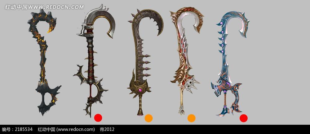 游戏武器钩设计图