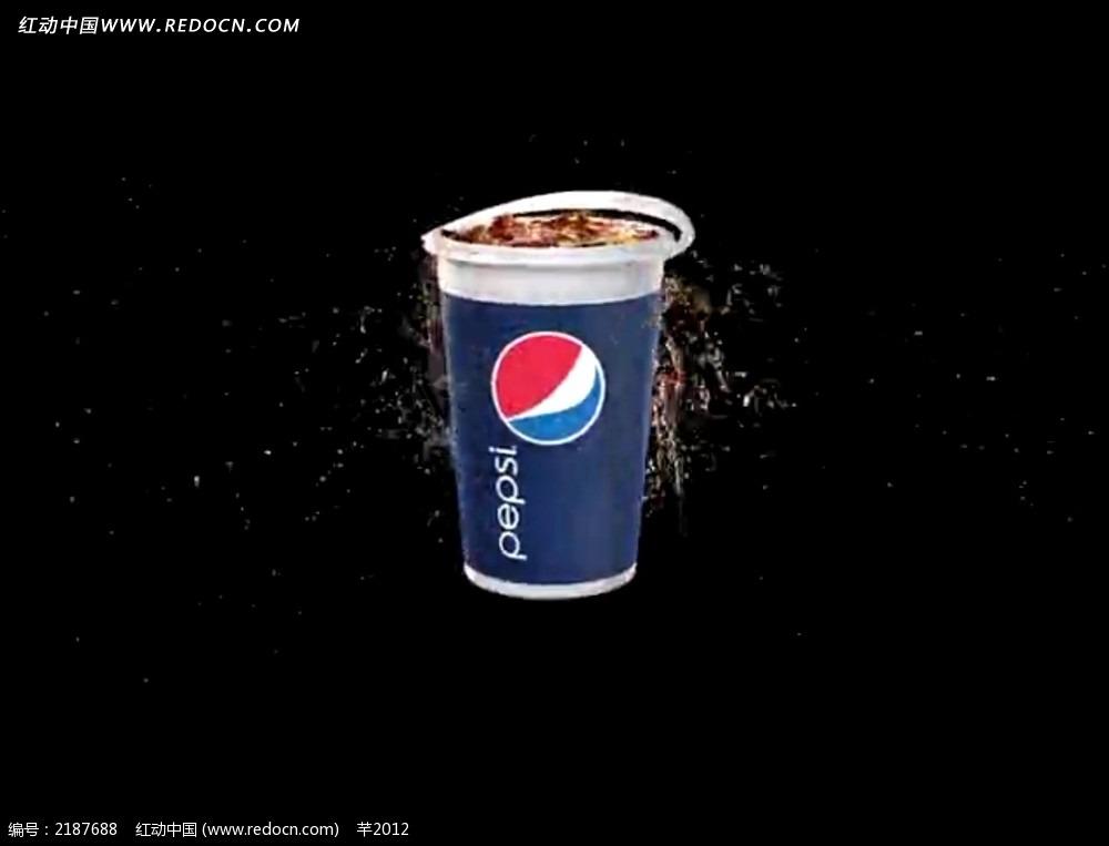 新的百事可乐标志视频素材图片