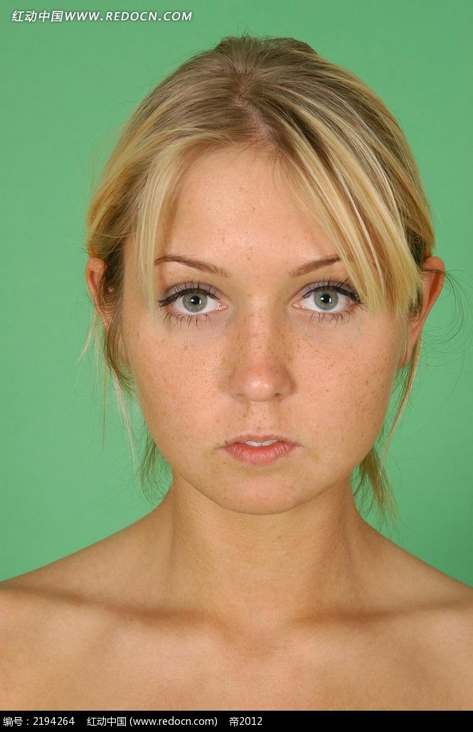 外国女人脸部正面特写jpg