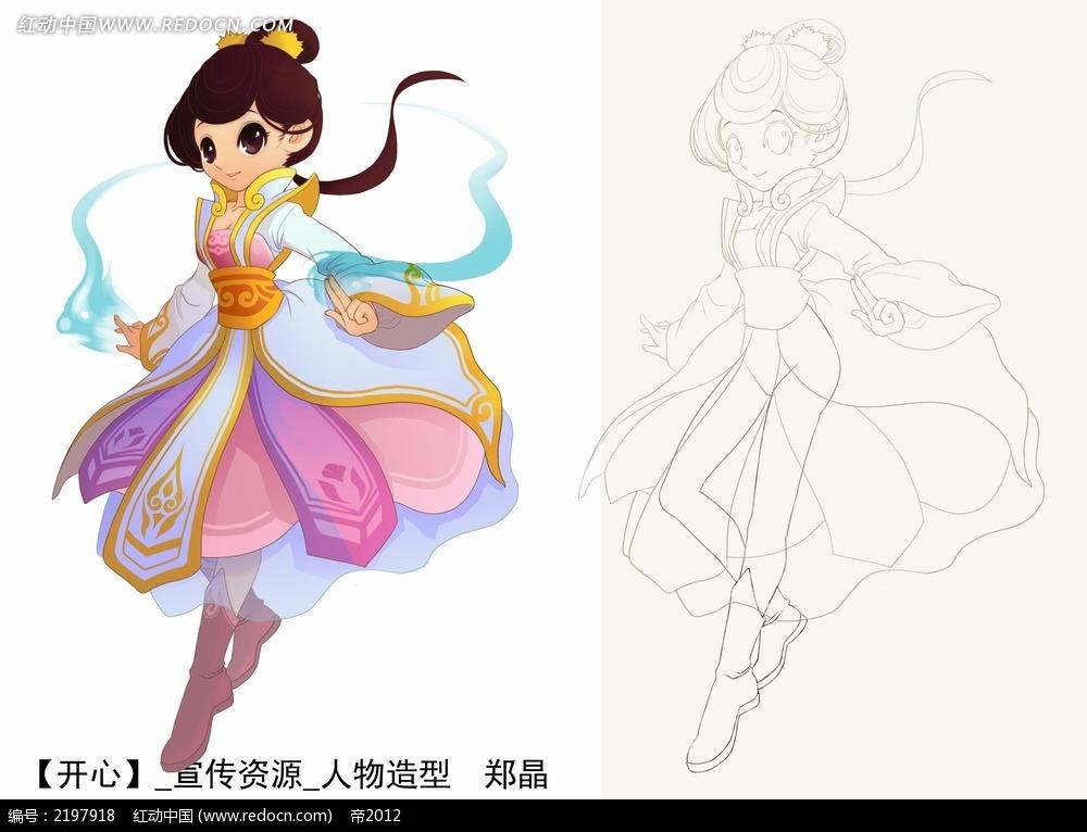 画仙女-8一9岁最美丽公主的画,叶罗丽七个仙子简笔画图片