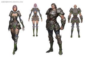 游戏人物设计插图