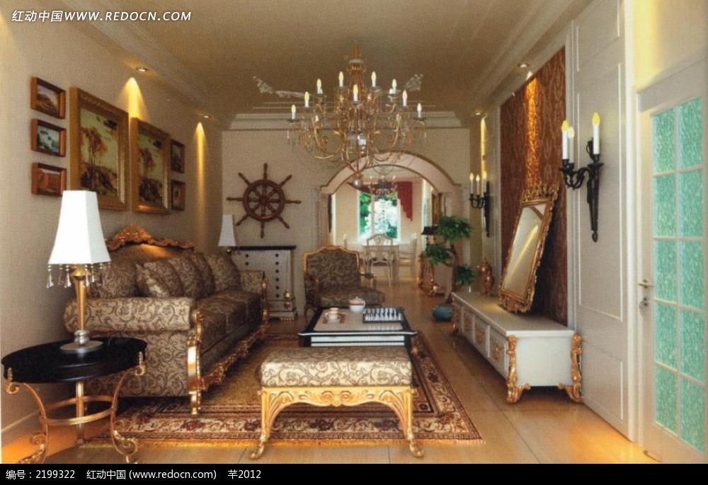 小户型欧式客厅图片        客厅效果图      柜子 设计 3d设计 3d图片
