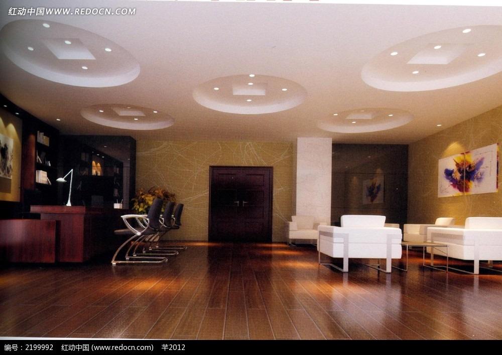 水晶吊灯 壁画 欧式家装风格 酒店客房装修效果图 桌椅 沙发 餐厅室内
