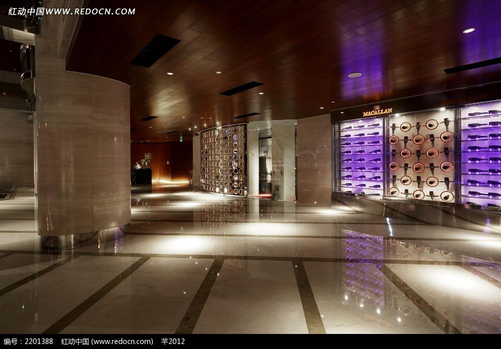 红酒展厅装饰效果图