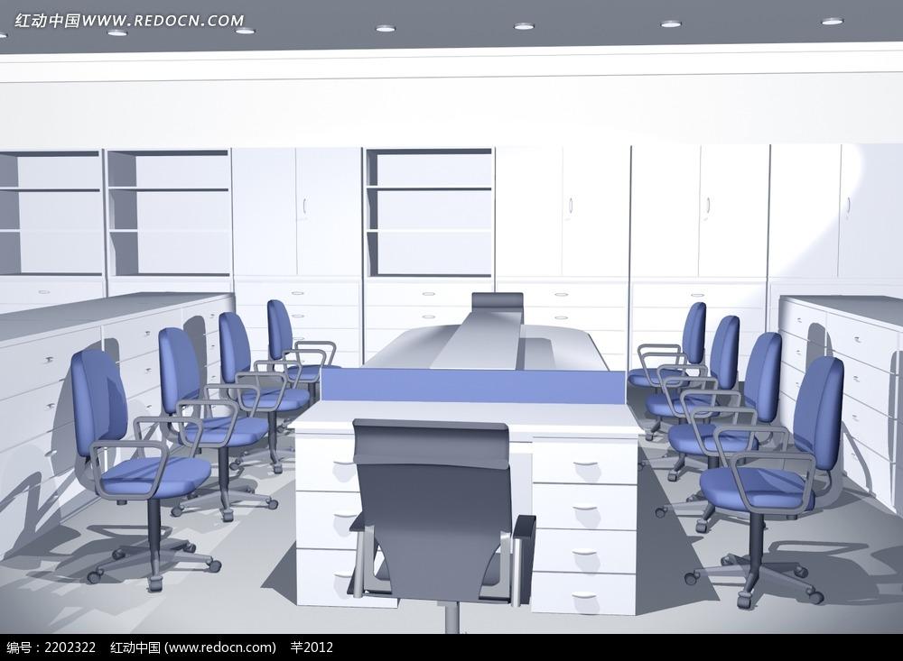 小型会议室装修效果图片
