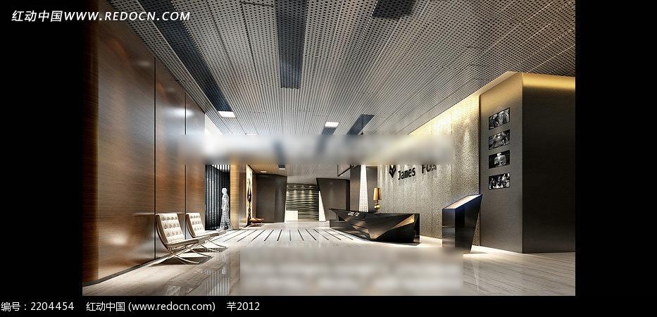 展厅室内效果图