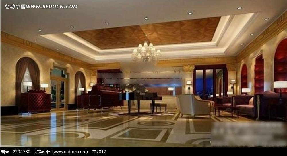 沙发 茶几 木质家具 地板 家居陈设效果图 客厅装修效果图 欧式家装