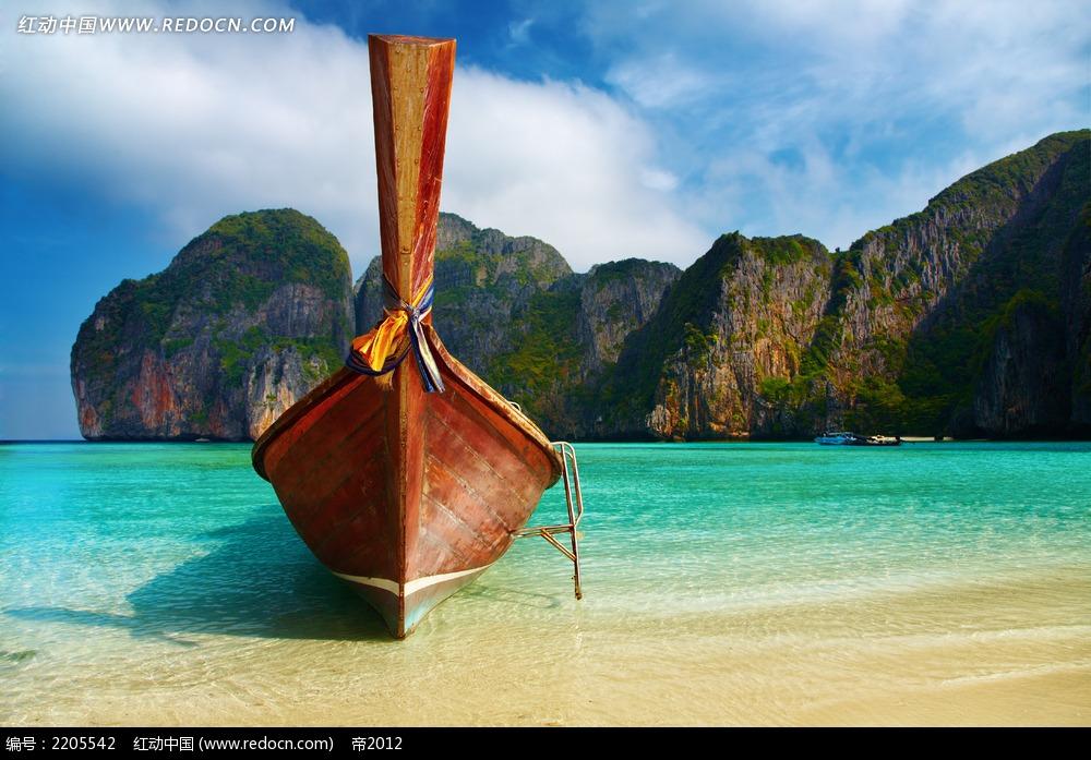 海滩沙滩度假高清大图图片_海洋海边图片